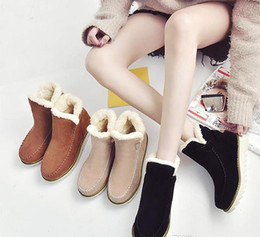 2018 With Box Big Size Martin Snow Ankle Girl Women Boots Shoes Spring 7.5 34 35 42 Free Shipping