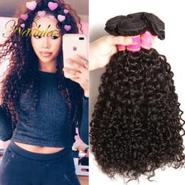 Nadula Peruvian Hair Bundles Kinky Curly Human Hair Peruvian Virgin Hair Extensions Cuticle Aligned Bundles Curly Weave Wave Wholesale