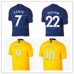 S-2XL 2018 2019 HAZARD JORGINHO MORATA jerseys soccer GIROUD Kante Camiseta DAVID LUIZ football shirt BAKAYOKO RUDIGER WILLIAN maillot