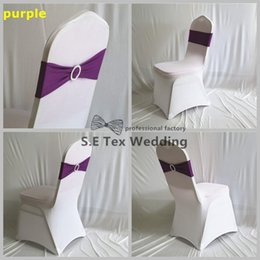 Good Quality Lycra Chair Band Spandex Chair Sash Fit For Wedding Chair Cover Decoration Free Shipping