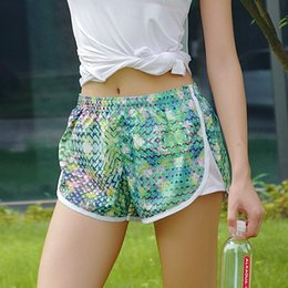 Cross-country new factory direct printing light breathable quick-drying marathon running with lined shorts girlsFresh fashion shorts