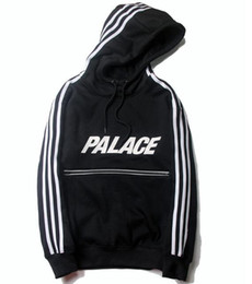 Tide Brand palace skateboard Reflective zipper stripe couple Hoodies Kanye West Abloh Virgil outdoor sport hoodies