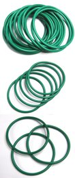 free shipping high quality factory wholesale different size Green Viton O Ring cross section 1mm OD3-13mm