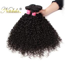 Nadula Virgin Brazilian Kinky Curly Human Hair Bundles 100% Human Hair Weave Remy Human Hair Extensions Wholesale Cheap Bundles Bulk