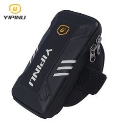 YIPINU arm pack sport mobile phone arm bag outdoor riding sports equipment fitness running arm bag spot