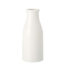 BRT Ceramic Milk Bottle Flower Vase