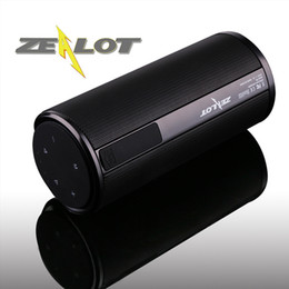 ZEALOT Wireless Bluetooth Speaker S8 Ourdoor portable Altavoces Haut ParleurTouchPanel 4000mAhPowerbank HI-FI Stereo Sound Handsfree TF Card
