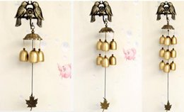 New Arrival Antique Bird Wind Chimes With 3 6 9 Copper Bells Garden Outdoor Home Room Wall Hanging Decoration Arts Crafts Birthday Gifts