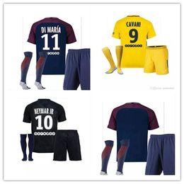 Thailand Maillot de MBAPPE NEYMAR JR soccer jerseys 2018 CAVANI DANI ALVES paris saint germain 17 18 football shirt KIT NEYMAR camisetas