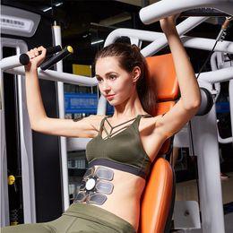 Intelligent EMS muscle L slacker trainer Sixpad electronic muscle stimulator Abdomen Arm Training gymnastic ABS band electronic muscle stimu