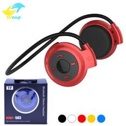 Mini 503 Wireless Bluetooth Headphone Stereo Handsfree Sports Music Earphone Headset for Iphone 6 7 8 X Samsung S6 S7 edge s8 note8