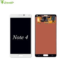LCD Touch Screen & Digitizer Assembly for Samsung Galaxy Note 4 N910 N910T N910P N910R4 N910V N910A N910E N910H TFT and OEM High Quality