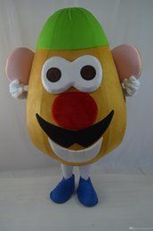 New Style Adult Cute BRAND Cartoon New Professional Mr. Potato Head Mascot Costume Fancy Dress Hot Sale Party costume Free Ship