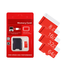2020 Bestseller Real Genuine Full Capacity 2GB 4GB 8GB 16GB 32GB 64GB Class 10 TF Memory SD Card With SD Adapter Retail Package