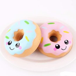 Squishies toys 10m Lovely Doughnut Cream Scented Squishy Slow Rising Squeeze anti stress soft toys funny gadgets kawaii squishies oyuncak