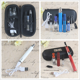 UGO Vaporizer 4 in 1 Starter Kit with CE4 dry herb Wax Pen glass globe CE3 tank vape ecig 1100mah evod ego battery
