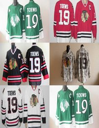 2016 Chicago blackhawk being hockey jersey red white black # 19 Jonathan Toews Top Quality Drop shipping Accept Mixed orders Hot Sale Cheap