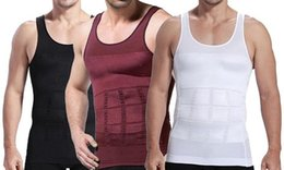 Men Slimming Vest Underwear Body Shaper Waist Cincher Corset Men Shaper Vest Body Slimming Tummy Belly Waist Slim Body Shapewear