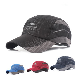 Best New Man Ventilation Baseball Spring Summer Korean Fashion Outdoors Leisure Time Sunscreen Peaked Cap Quick-drying
