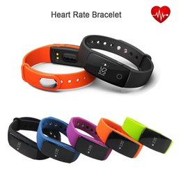 Hot ID107 HR GPS Smart Bracelet Heart Rate Monitor Pedometer Fitbit Bluetooth Fitness Sports Tracker Wristband For IOS Android Xiaomi Phone