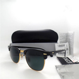 High quality big frame Brand Designer Fashion Men Women Coating Sunglasses UV Protection Sport Vintage Sun glasses With box