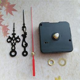 Wholesale 50PCS Sweep 12mm Short Shaft Clock Quartz Movement with Metal Hands DIY Wall Clock Accessories