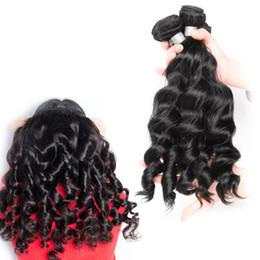 Fashionable Brazilian Hair Weave 3 Bundles Loose Wave Virgin Hair Weave 100% Unprocessed Human Hair Weaves 8-30 Inch Bundles