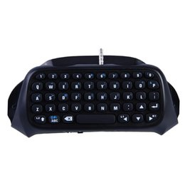 Mini bluetooth wireless Message chatpad Keyboard for Sony Playstation 4 PS4 Controller