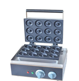 Electric 12 pcs Sweet Donuts machine Cookie Cake maker