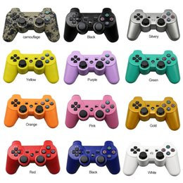 DHL Free Sensitive Bluetooth Wireless Controller Game Controller Joysticks For SONY PS3 Available Real SixAxis Without Packaging A-SYB