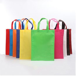 Shopping brand new non-woven bag shopping bag of environmental protection bags can be customized in a variety of color styles