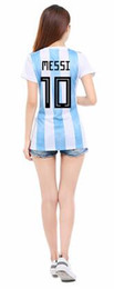 2018 Argentina Jersey women's wear, high quality household Jersey, large quantity of stock, quality service, delivery speed, size S-L, welco