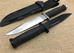 Cold Steel 39LSFD Leatherneck SF Camping Dagger Fixed Blade Knife 7CR17MOV Straight Knife Outdoor Survival Tactical Hunting Knives