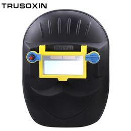 Solar auto dark shading DIN9-DIN13 welder eyes mask helmet eyes goggle welder glasses for ARC TIG MMA MIG welding machine