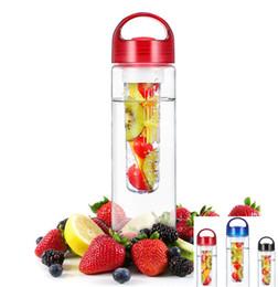 700ml Water bottles multi function sports bottles creative lemon bottles with handgrip for traveling multi color