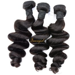 10A virgin malaysian indian hair weft loose curl brazilian peruvian human hair bundles 3pcs european russian cambodian mongolian hair weave
