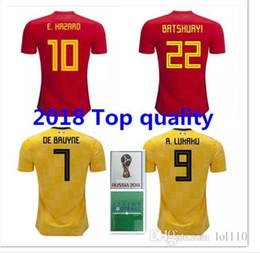 2018 Belgium soccer JerseyFootball Stadium Away Danger 18 19 Lukaku Nainggolan De Bruyne Mertens Batshuayi T-shirt