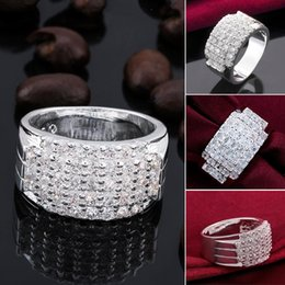 Fashion Silver plated new design finger ring for lady (R485-8)