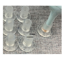 Wholesale High quality Woman omens Shoes Heel Stoppers Clear Round Dia 10mm Ladies High Heels Protectors Free Shipping