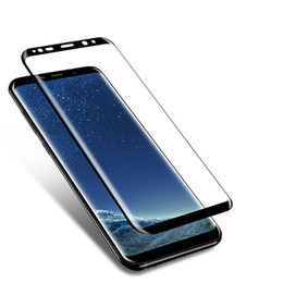 For Sumsung Galaxy S9 S9 Plus 3D Tempered Glass Case Friendly Screen Protector Film Curved Ultra Clear With Retail Package Box