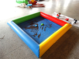 Large colorful cheap price Sand pool inflatable Sand pool for sale