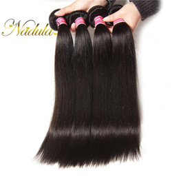 Nadula Malaysian Straight Hair Weave Bundles 100% Human Virgin Hair Extensions Remy Human Hair Weft 8-30inch Natural Wholesale Weave Cheap