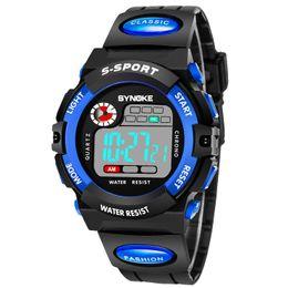 Cheapest Functional Fashion Men Sports Digital Wrist Watch LED Watch Digital Watch Water Resistant DHL Drop Free Shipping