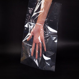 Pvc heat shrink bags  big size heat seal packing bag Electronic product protection film Dust-proof film