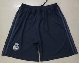 Thai 18 19 Real Madrid Soccer Shorts 2018 2019 Benzema Ronaldo Modric Kroos Sergio Ramos Bale Marcelo ISCO ASENSIO football shorts pants