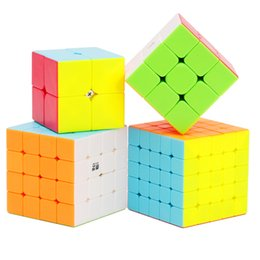 2x2x2 3x3x3 4x4x4 5x5x5 Magic Cube Puzzles Children Toys Speed Cube Stickerless Learning Educational Puzzle Magico Toys Magic Cube Kid
