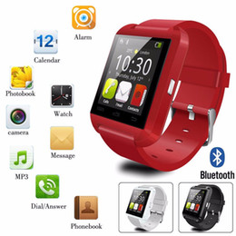 Hot Top Best Selling Fashion U8 Smart Watches Wristband Android Bluetooth Watch with Camera Smart SIM Intelligent Mobile Phone Call Sleep