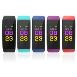 ID115pius HR Fitness SmartBracelet Health Band TrackerTracking New Arrival Cheap Sports Heart Rate Monitor Band Alarm Clock Wristbands