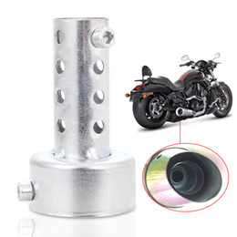 Motorcycle Exhaust Pipe Muffler End Tail Pipe Outlet Tips Motor Motorbike Gas Vent Silencer Muffler