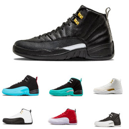 New 12 International Flight Basketball Shoes Bulls 12s Prom Night Concord 11s Black Cat 13s Fresh Prince Mens Sport Sneakers 8-13